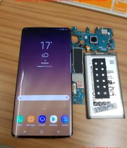 samsung s8 plus broken glass repair in hamilton