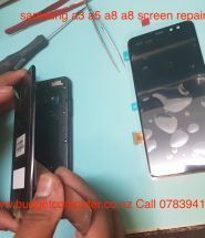 samsung a3 a5 a7 a8 screen repair in hamilton